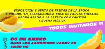Todos invitados a participar y disfrutar del 2º Festival del Melón en Bella Vista – Itapúa !!!
