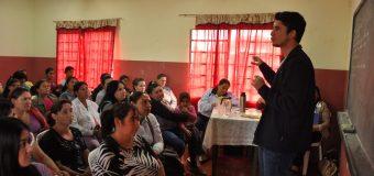 Charla sobre uso del celular en instituciones educativas