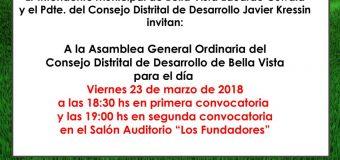 Asamblea Consejo Distrital de Desarrollo