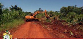 Mantenimiento y reparación de los caminos rurales.