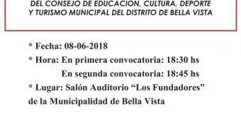 ASAMBLEA GENERAL ORDINARIA DEL CONSEJO DE EDUCACIÓN