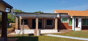 Importante avance en las obras realizadas en la escuela Arandurâ del Bº Buena Vista