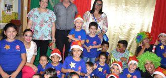 Papá Noel visitó el Centro Comunitario Buena Vista