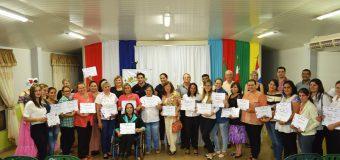 Clausura y entrega de certificados de los cursos del S.N.P.P