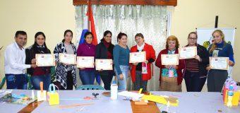 Clausura del Curso de MANUALIDADES en la Municipalidad de Bella Vista