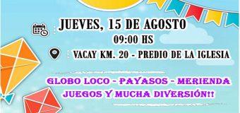 """Festejo por el """"DÍA DEL NIÑO"""", en VACAY KM. 20"""