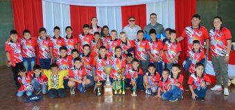 Desde la Municipalidad de Bella Vista FELICITAMOS a los jugadores del plantel de la Escuela de Fútbol del Club Unión