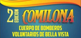 El Cuerpo de Bomberos Voluntarios de Bella Vista invita a la 2° Edición de su Gran Comilona