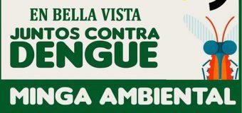 """""""En Bella Vista, juntos contra el dengue"""""""