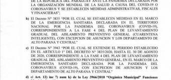RESOLUCIÓN N° 8407-A/2020