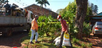 Minga Ambiental en los Barrios San Blas, San Pablo y Tte. Tischler del Distrito de Bella Vista.