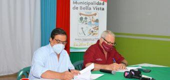 Firma de convenio de cooperación interinstitucional entre la Municipalidad de Bella Vista y la SENADIS