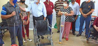 Entrega de Ayudas Técnicas a 42 beneficiarios del Distrito de Bella Vista.