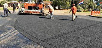 Trabajos de reparación, reconstrucción y recapado de capa asfáltica