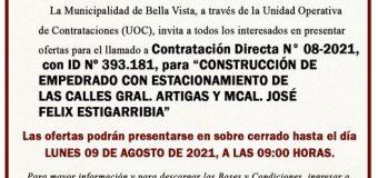 La Unidad Operativa de Contrataciones (UOC), invita: