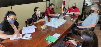Reunión del Consejo de Educación y Cultura de la Municipalidad de Bella Vista.