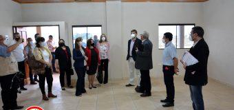 Visita del Ministro de Educación y Ciencias al nuevo local de la Esc. Carlos Antonio López.